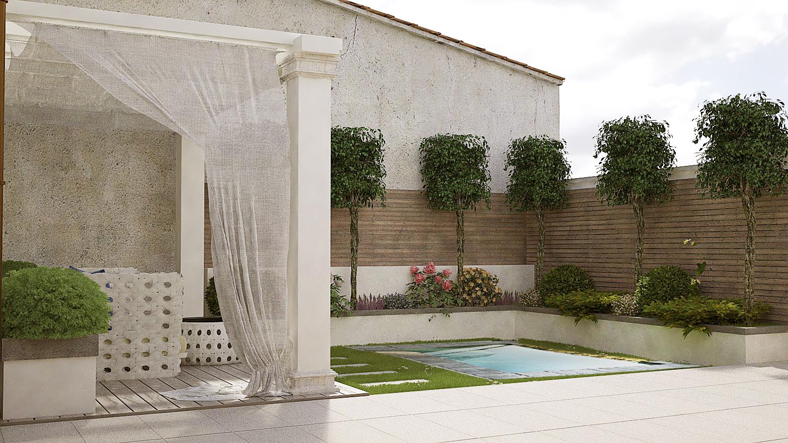Casa con piscina agenzia ponchielli
