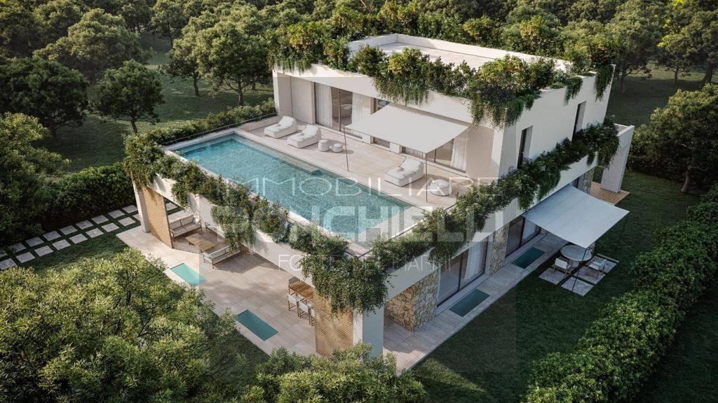 Villa con piscina a Forte dei Marmi